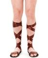 Bruine sandalen voor volwassenen