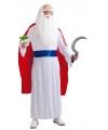 Tovenaars jurk met cape voor heren